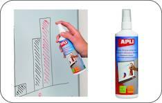 Valkotaulu puhdistusneste APLI - Valkotaulun puhdistustarvikkeet - 116759 - 1