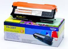Värikasetti BROTHER TN-328Y laser - Brother laservärikasetit ja rummut - 124839 - 1