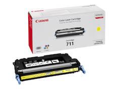 Värikasetti CANON 711Y laser - Canon laservärikasetit - 145389 - 2