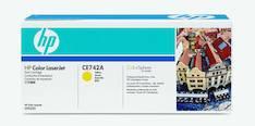 Värikasetti HP CE742A laser - HP laservärikasetit ja rummut - 126869 - 1
