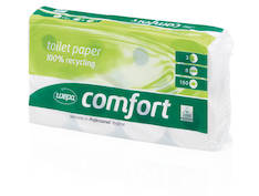 WC-paperi WEPA Comfort - Pikkurullat ja annostelijat - 133959 - 1