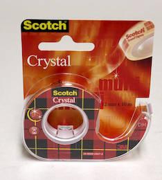 Yleisteippi SCOTCH 6-1210D 12mmx10m - Kaksipuoleiset teipit ja kiinnitystarrat - 104539 - 1
