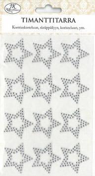 Timantti Tarra-arkki TÄHTI - Tarrat ja tarrakirjat - 153469 - 1