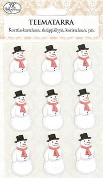 Teematarra lumiukko - Tarrat ja tarrakirjat - 153489 - 1