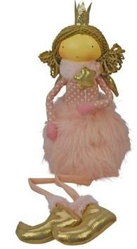 Prinsessaenkeli 48cm - Jouluun valot,koristeet,tekstiilit - 153739 - 1